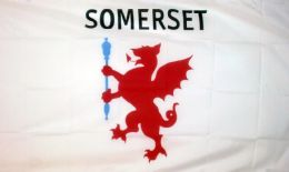 5ft x 3ft Retro 100D Somerset County Flag Flags for Sale West Country Seller
